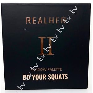 2/$25 RealHer Do Your Squats Eyeshadow Palette NEW